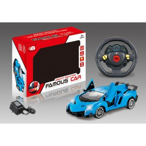 1:24 5 FUNCTION R/C CAR ONE-TOUCH OPEN THE DOOR WITH LIGHT INCLUDED BATTERY AND CHARGER