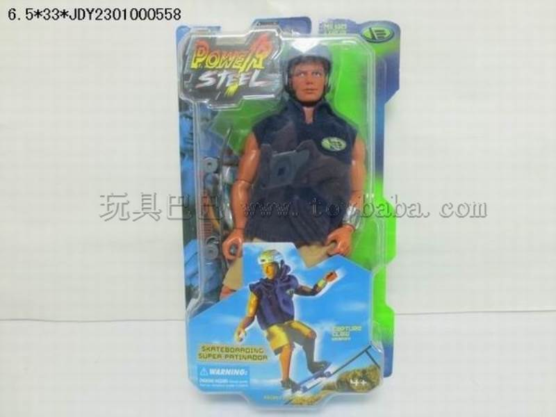 Max steel skateboard warrior No.:10013