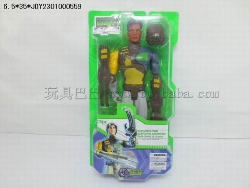 Max steel Dig  warrior No.:10130