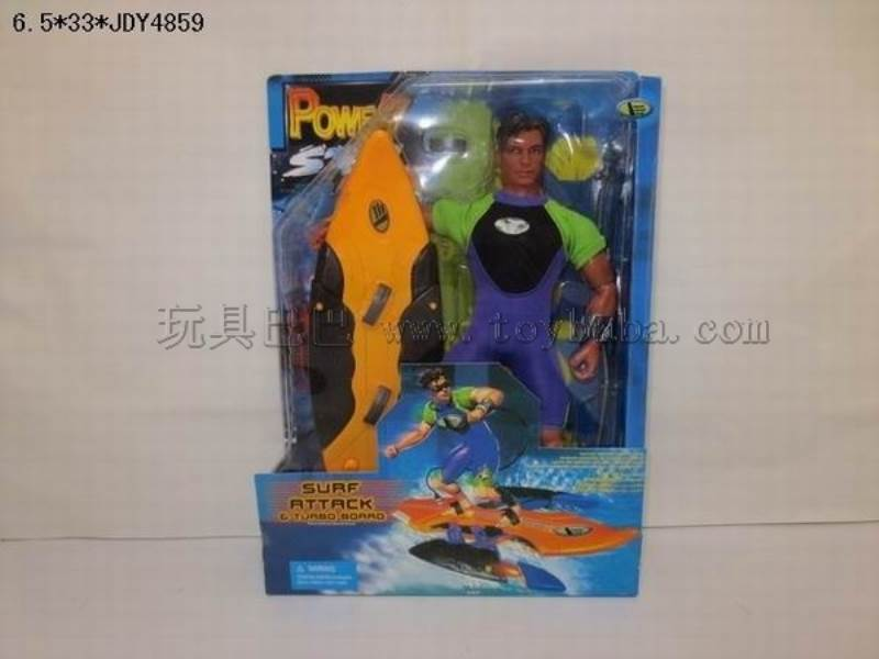 Max steel Surfing warrior No.:10027