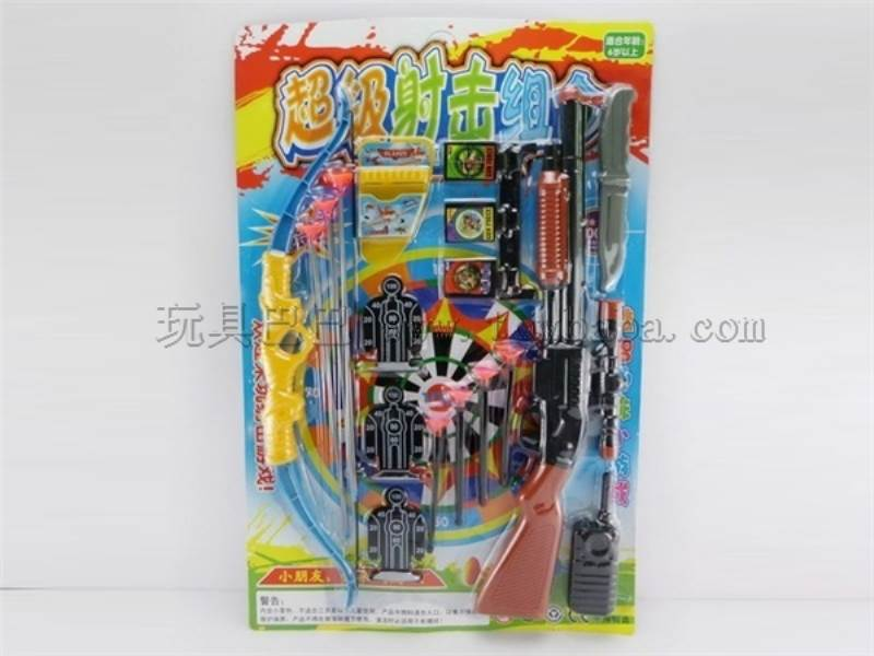 Toys gun play set arrow and bow No.:3035-38