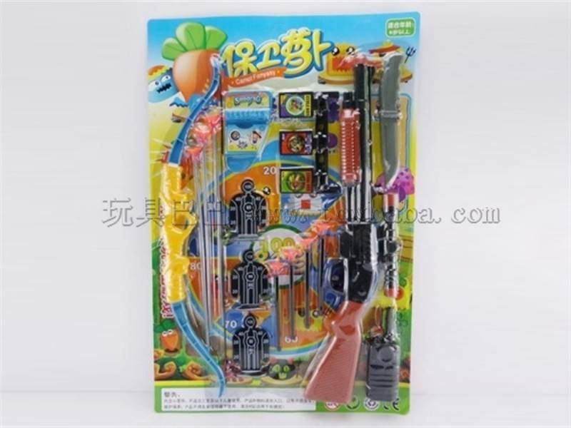 Toys gun play set arrow and bow No.:3035-39