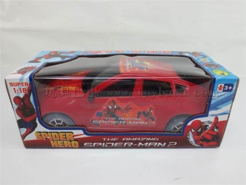 spider-man B/O car with lights and music No.:1099