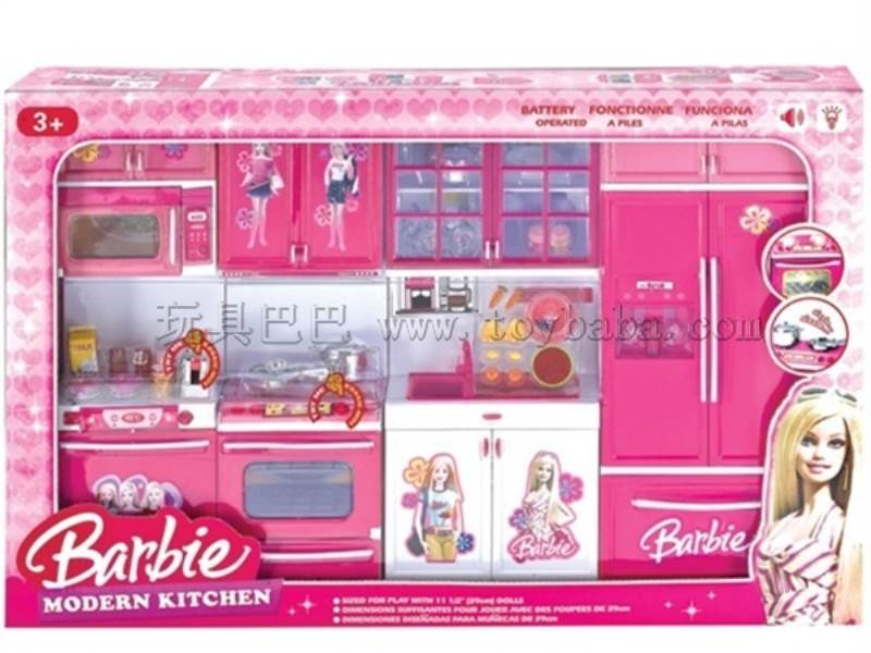 Barble fashion kitchen set(4-in-1) No.:QF26211BA