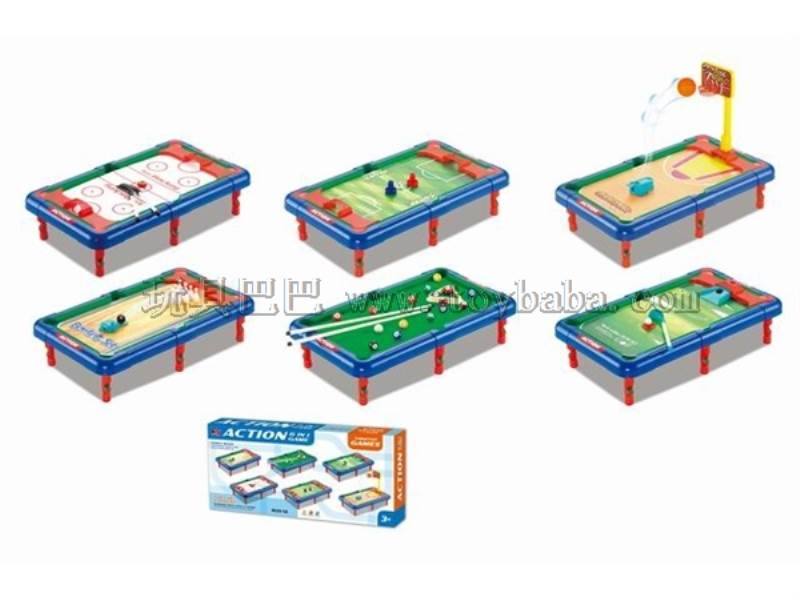 Table tennis 6 in 1 No.:628-15A