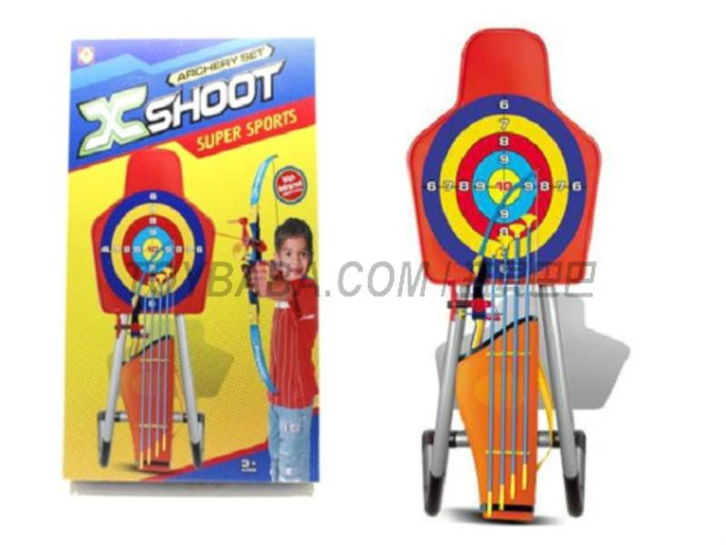 With a bow and arrow target No.:901022