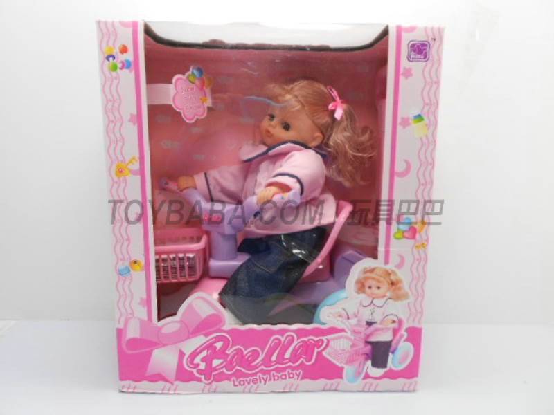 15-inch bicycle with doll No.:5299