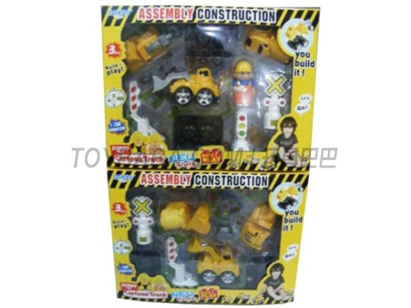 Since the fight cartoon truck ( three with doll signpost ) No.:FS-35113