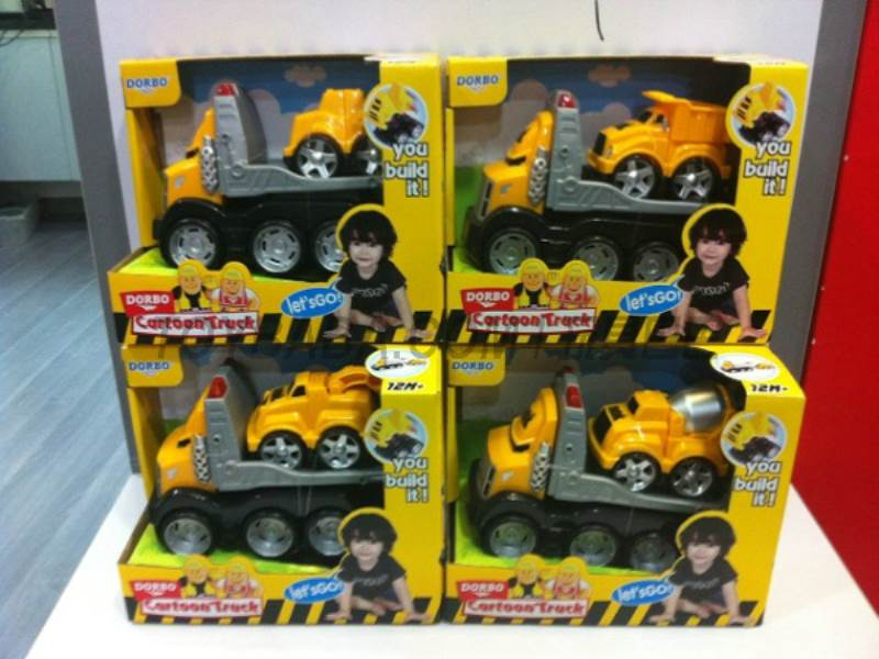 Since the imposition of cartoon works Car small way No.:FS-35121ABCD