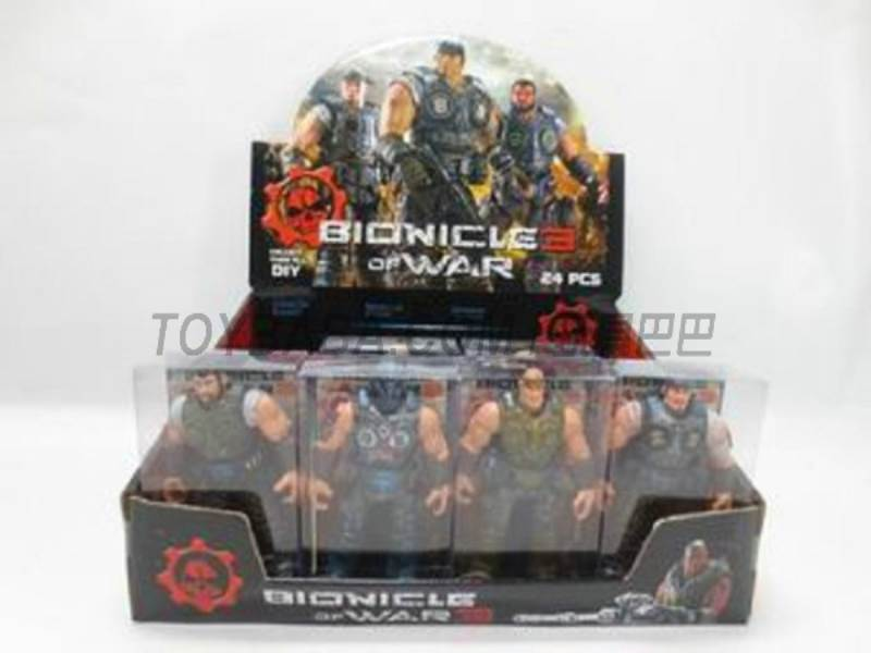 Assembling Bionicle 24 6 mixed No.:8910-51