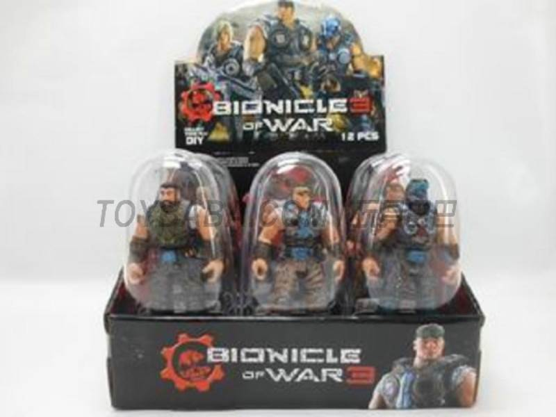 Assembling Bionicle 12 6 mixed No.:8910-52