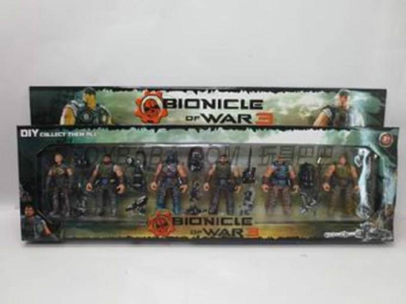 Assembling Bionicle No.:8910-53