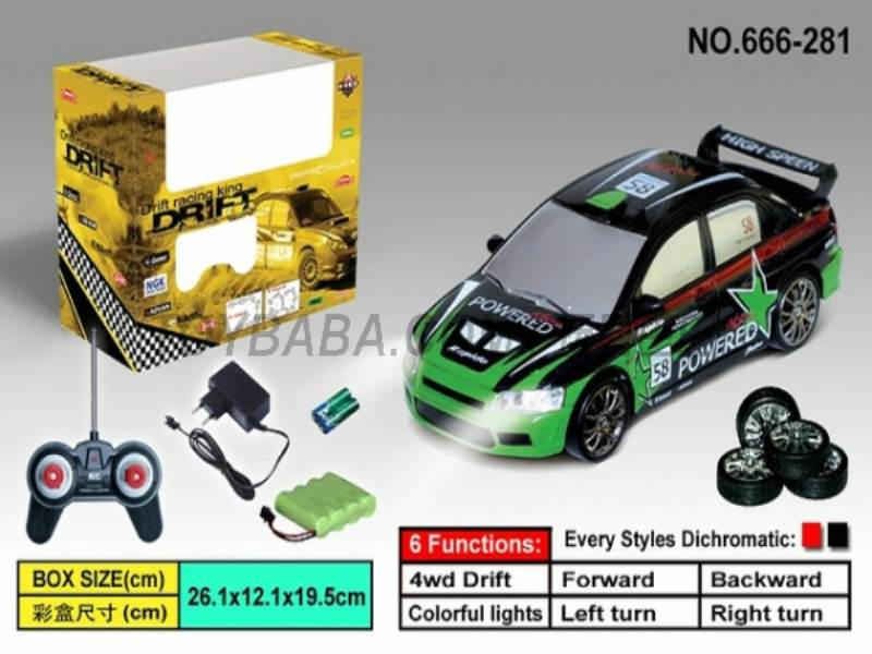 Four-wheel drift racing (including charging) No.:666-281