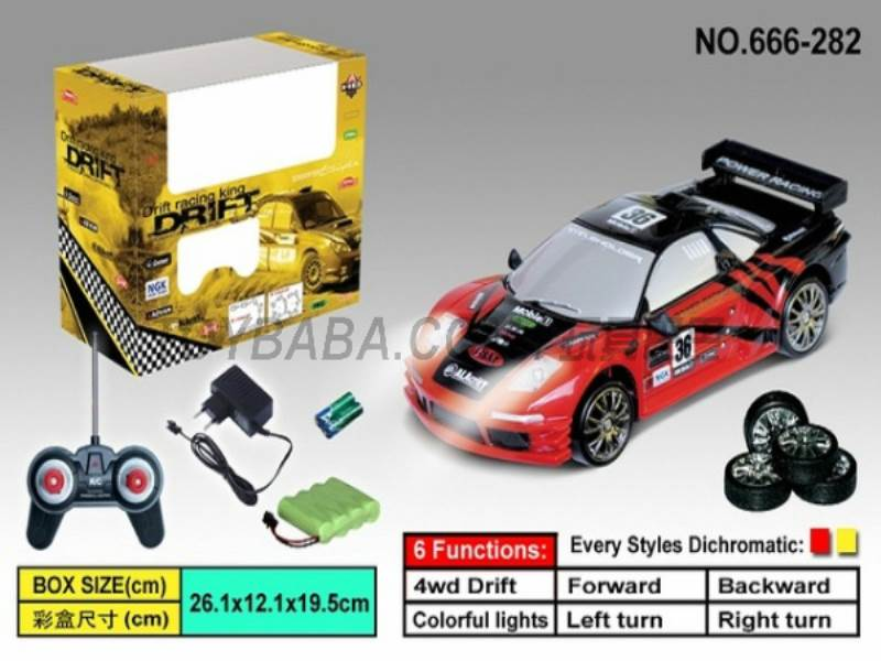 Four-wheel drift racing (including charging) No.:666-282