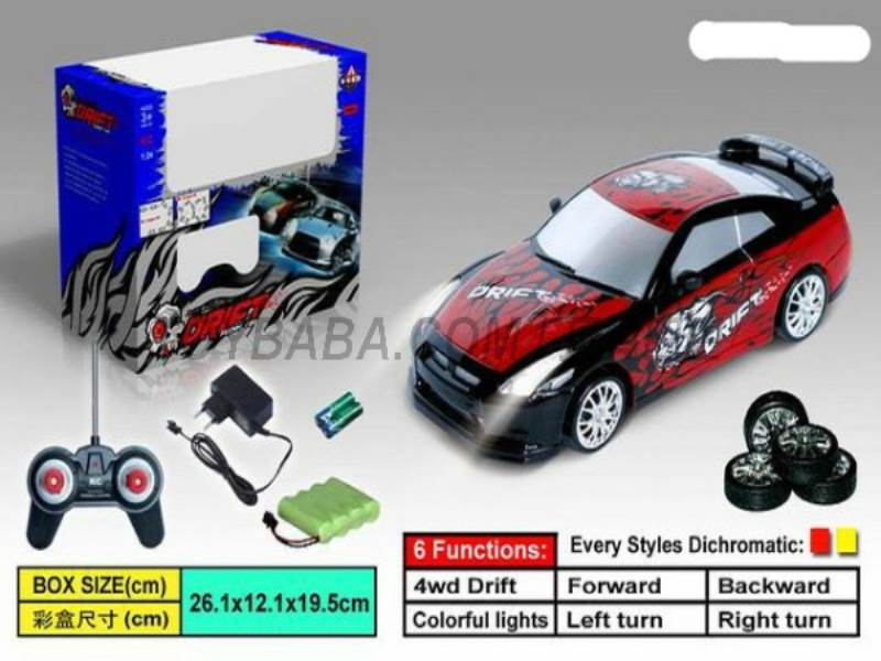 Four-wheel drift car (including charging) No.:666-210