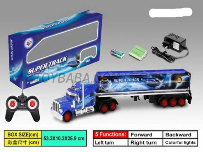 1:36 Stone tank trailers ( India Planet Space ) (for charging with lights ) No.:666-405