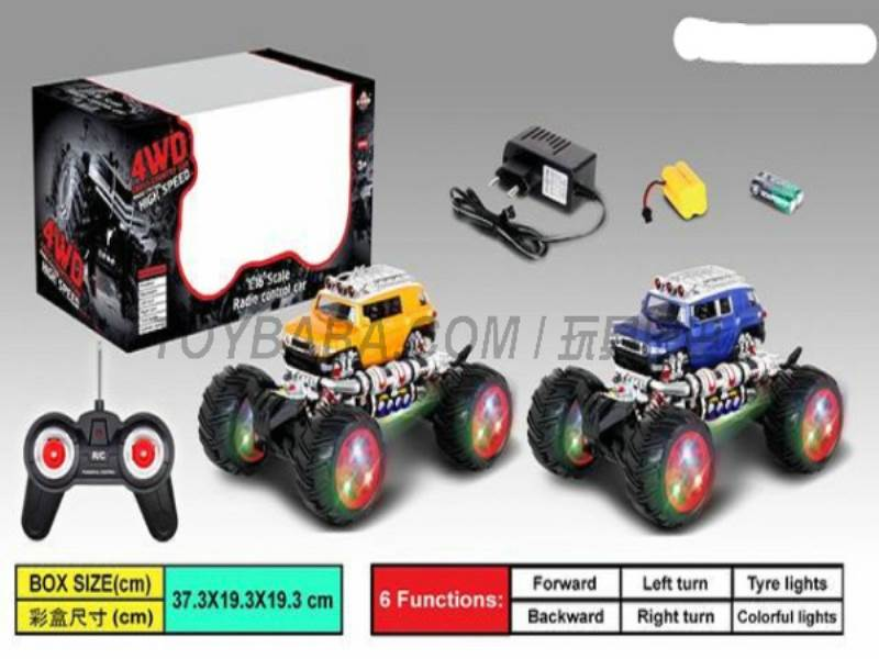 1:16 Stone simulation of off-road remote control car (including charging) (bright windows No.:666-321