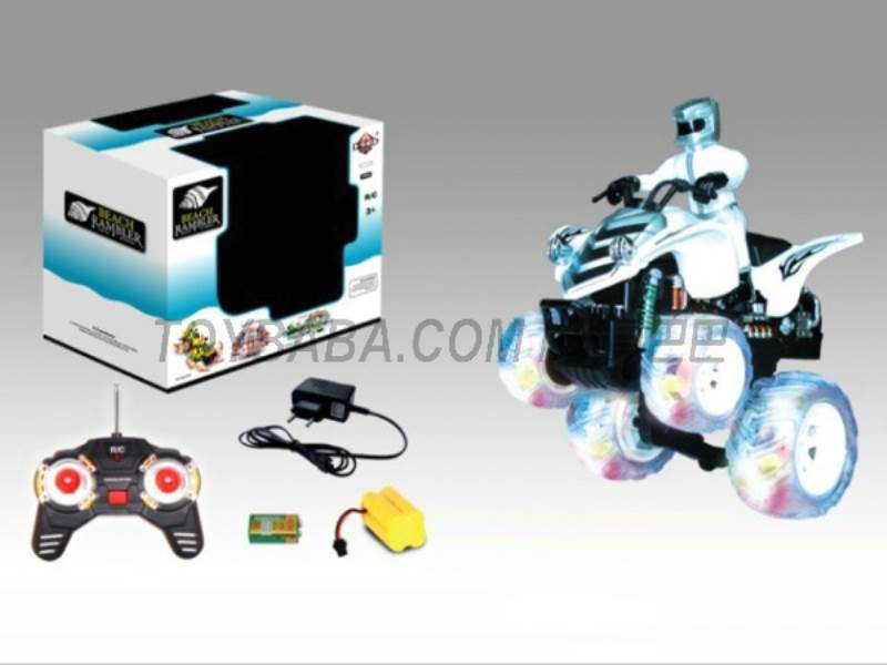 9 function motorcycle stunt beach (body with lights music pack charging) No.:666-MT05