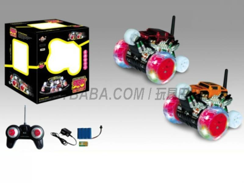 8 features a single wheel rotation stunt car simulation patterns (body with lights  No.:666-XD06