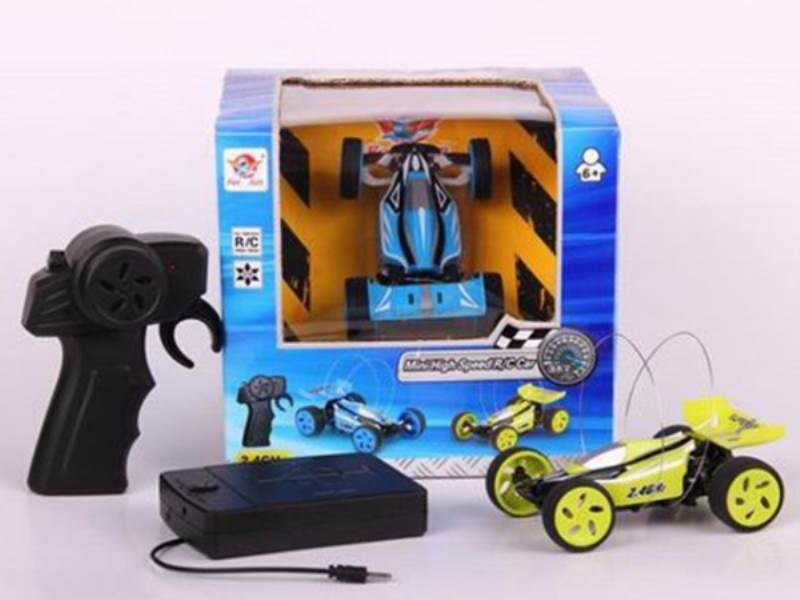 High-speed 2.4G mini remote control car (with USB charging cable) No.:FC086