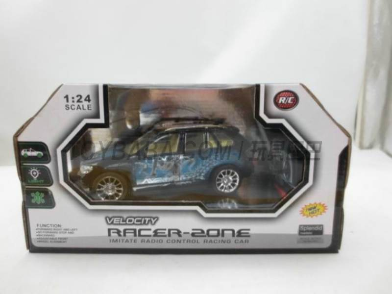 Stone lighting color remote control car (without including electricity) No.:399-11