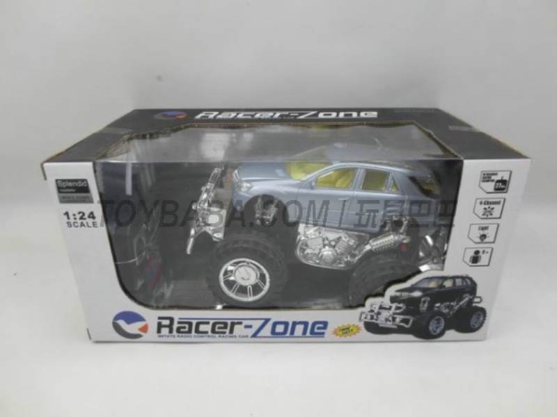 Stone light off-road remote control car simulation ( including electricity + charger) No.:399A-10
