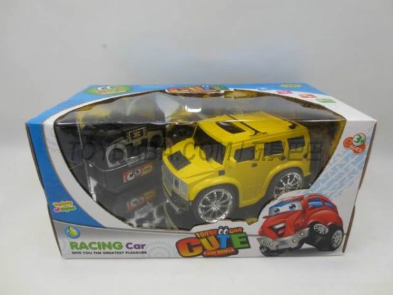 Stone simulation remote control cartoon car ( without package electric ) No.:399A-3