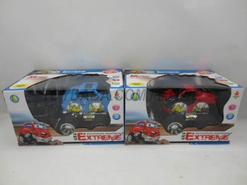 Off-road simulation remote control cartoon car ( without package electric ) No.:2015AB