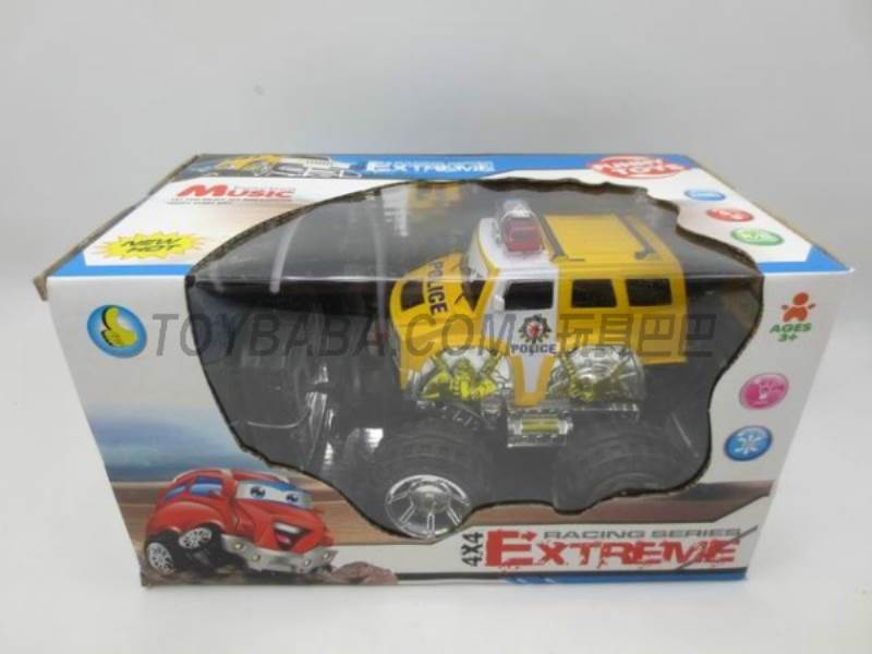 Off-road remote control car cartoon (without including electricity) No.:2015CD
