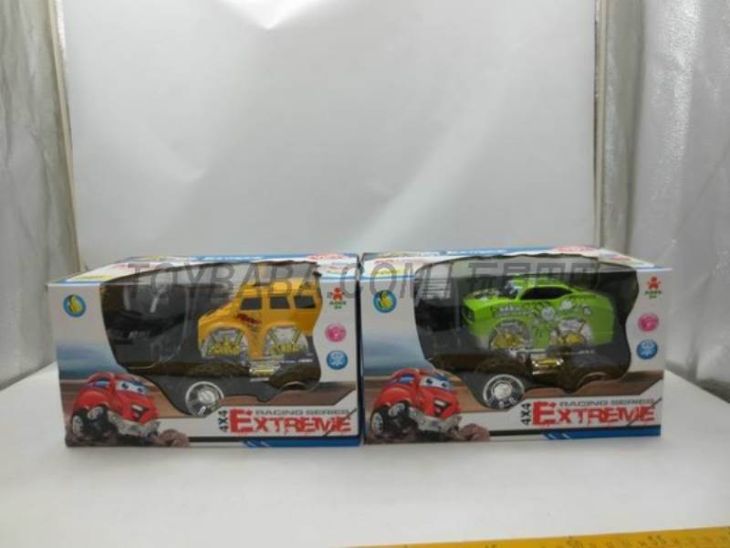 Off-road remote control car cartoon color (without including electricity) No.:2015EF