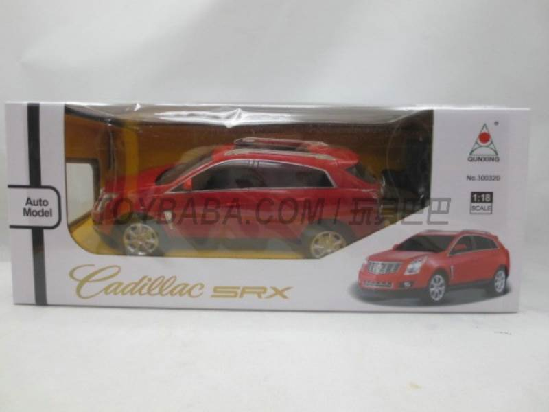 1:18 Cadillac (no charge without packet of electricity ) No.:300320