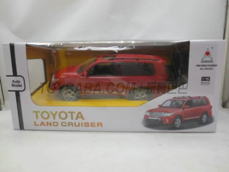 1:16 Toyota Rand Road Chak cool(no charge without packet of electricity) No.:300322