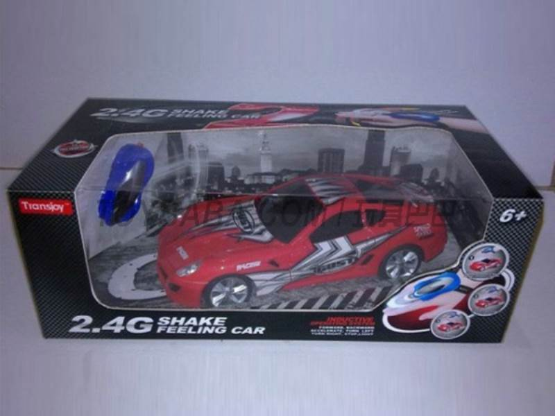 1:16 manual remote control car (2.4G) No.:T2013A