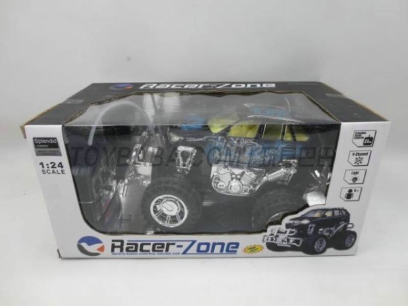 Stone color light off-road remote control car (including electricity + charger) No.:399A-11