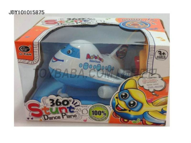 Two-way remote control stunt cartoon airplane No.:HLT-0024-HT-22