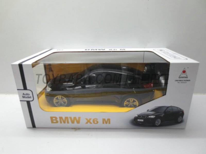 1: 4 BMW X6 ( body 5AA remote control 2AA) No.:300201