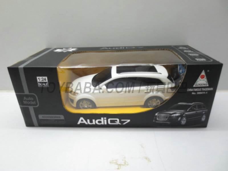 1:24 Audi Q7 four-way remote control car charging No.:300411-1
