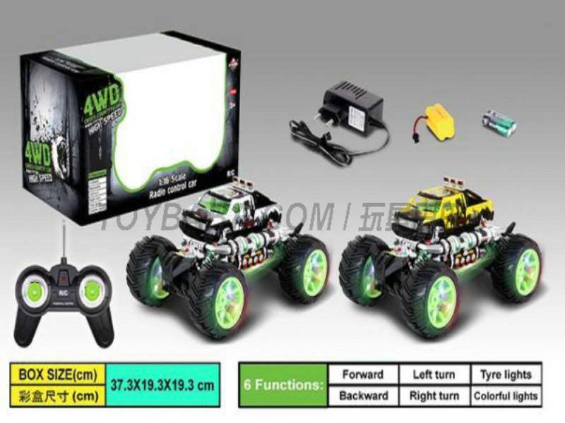 1:16 Stone animal off-road remote control car (including charging) No.:666-333