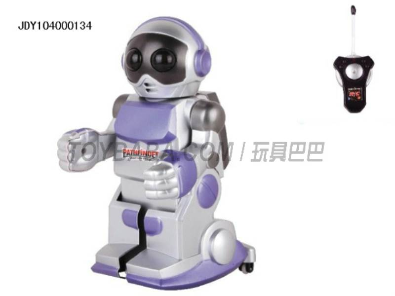 Multi-function remote control music flash voice robot No.:2028-2A