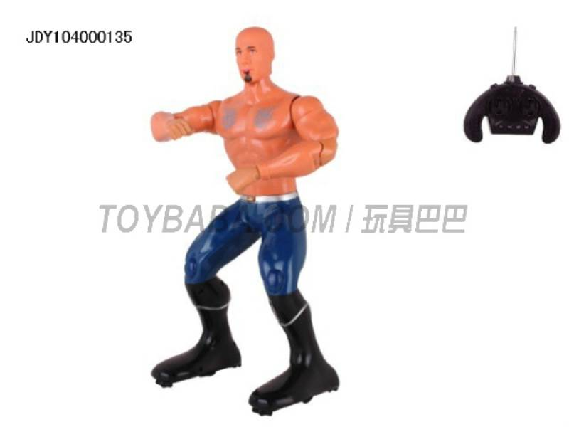 Remote control robot boxing king (Multi- voice action with 11 action demo) No.:2028-16
