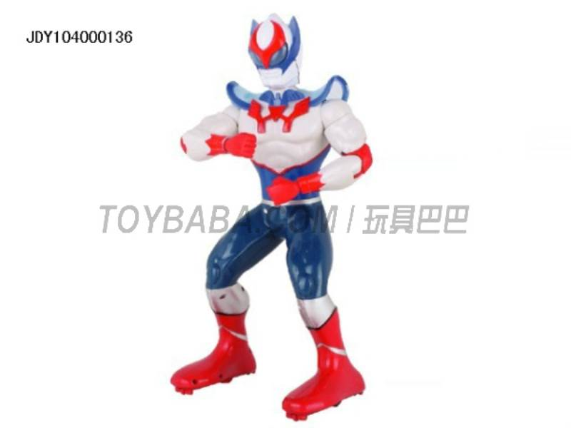 The new remote control robot Superman ( multifunction voice light action with 11 action demo ) No.:2028-31