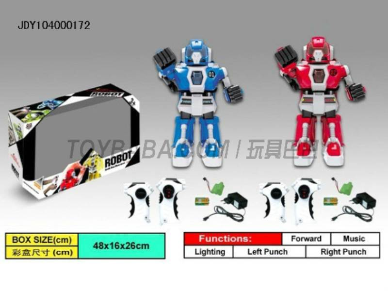 Fighting robots intelligent infrared remote control (blue red) No.:333-VS03