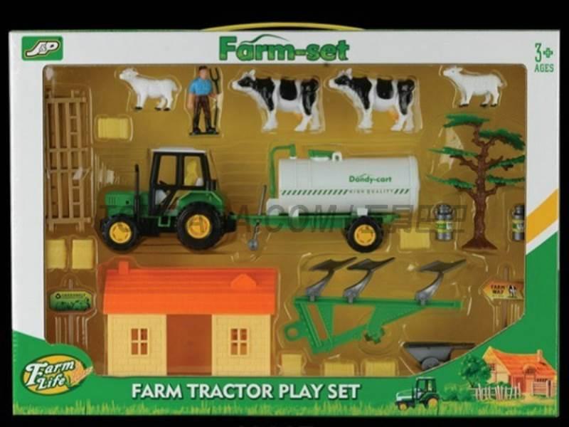 Boxed sets of sliding farmer car Farms No.:JC807