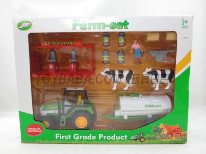 Boxed sets of sliding farmer car Farms No.:JC808