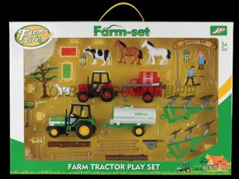 Boxed sets of sliding farmer car Farms No.:JC805