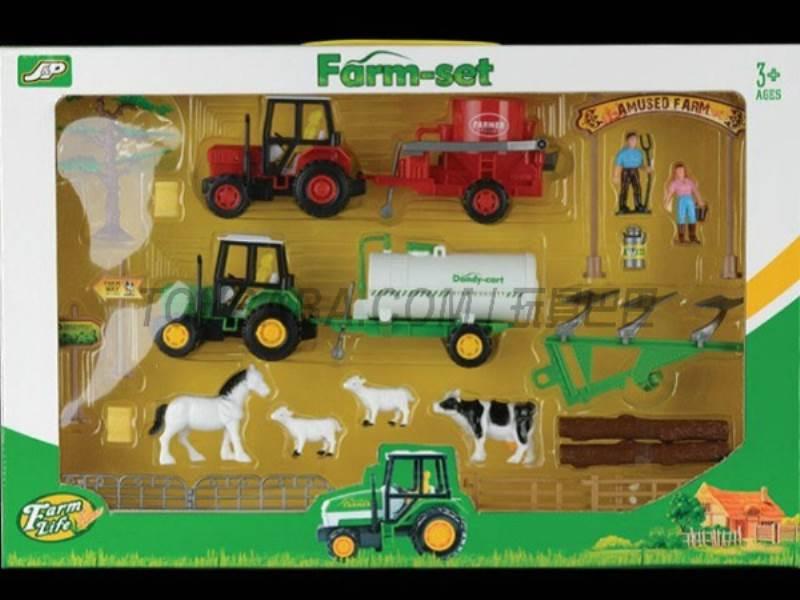 Boxed sets of sliding farmer car Farms No.:JC813