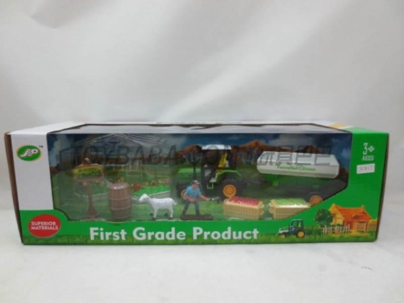Boxed sets of sliding farmer car Farms No.:JC817