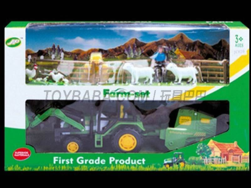 Boxed sets of sliding farmer car Farms No.:JC820