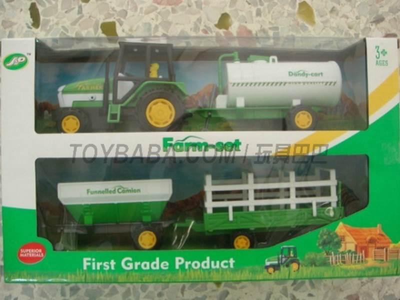 Boxed sets of sliding farmer car Farms No.:JC821
