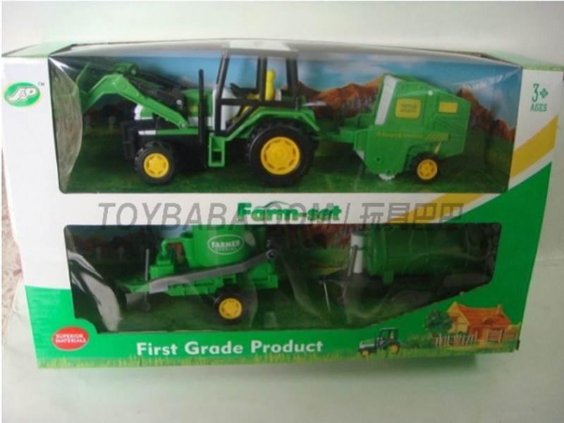 Boxed sets of sliding farmer car Farms No.:JC822
